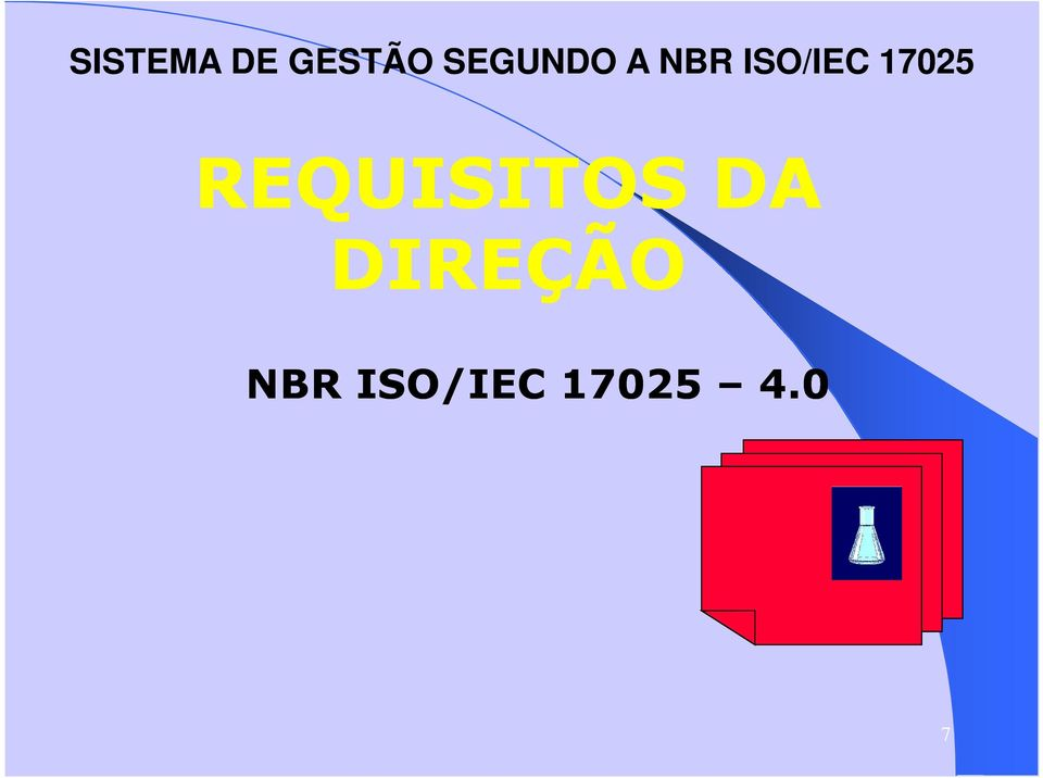 17025 REQUISITOS DA