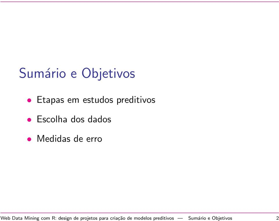 Web Data Mining com R: design de projetos