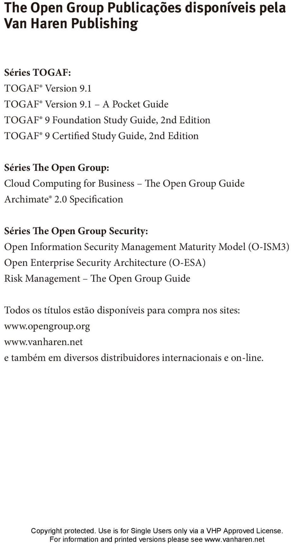 Open Group Guide Archimate 2.