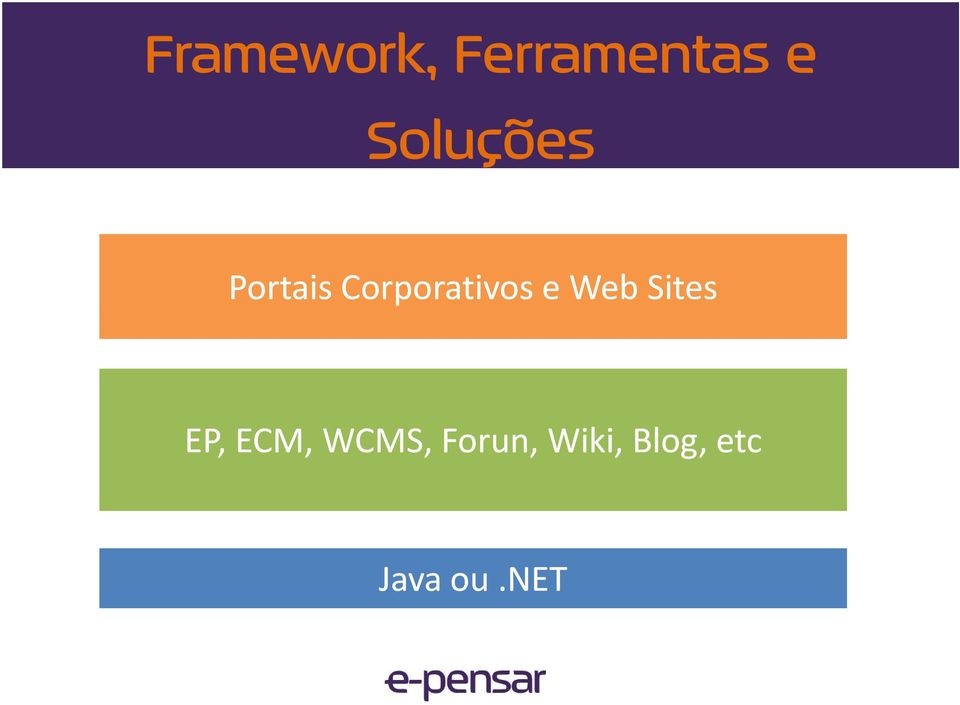 Corporativos e Web Sites EP,