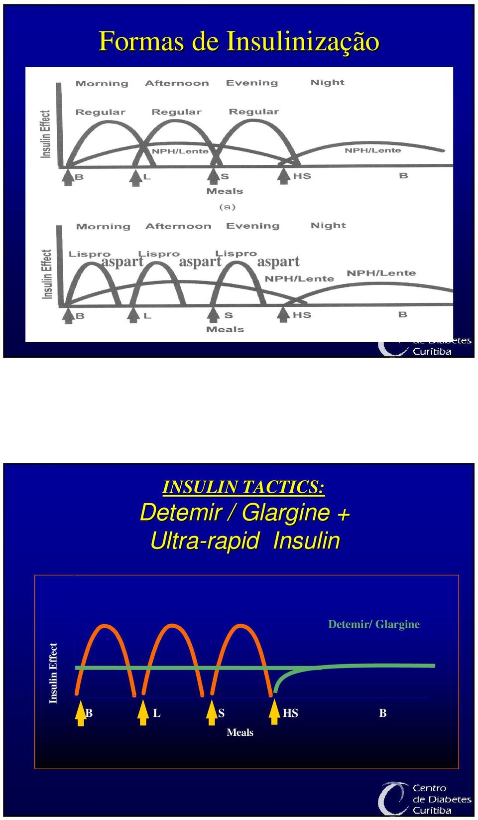 Glargine + Ultra-rapid rapid Insulin