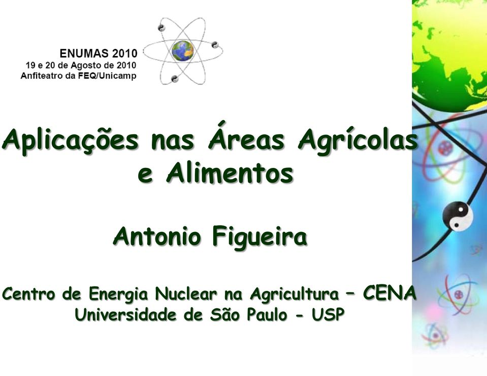 de Energia Nuclear na Agricultura