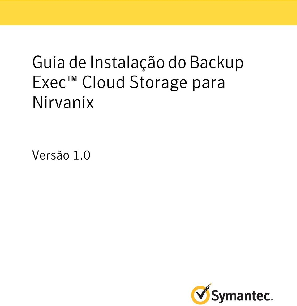 Backup Exec Cloud