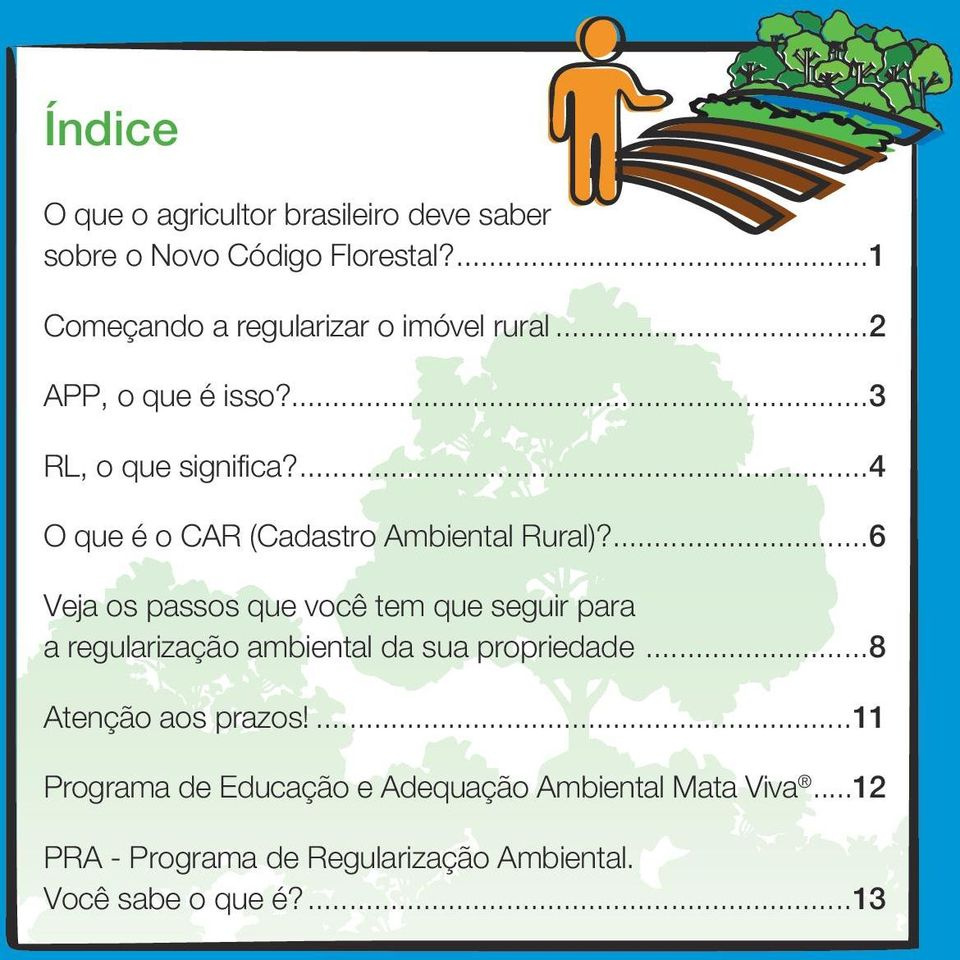 ...4 O que é o CAR (Cadastro Ambiental Rural)?