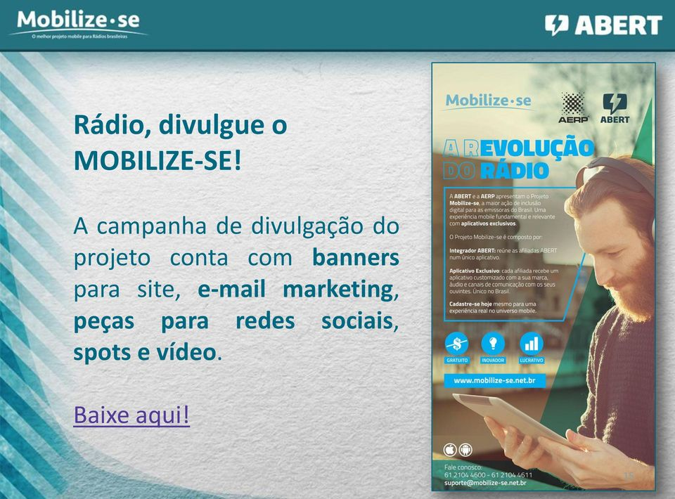 com banners para site, e-mail marketing,