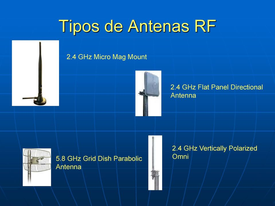 4 GHz Flat Panel Directional Antenna