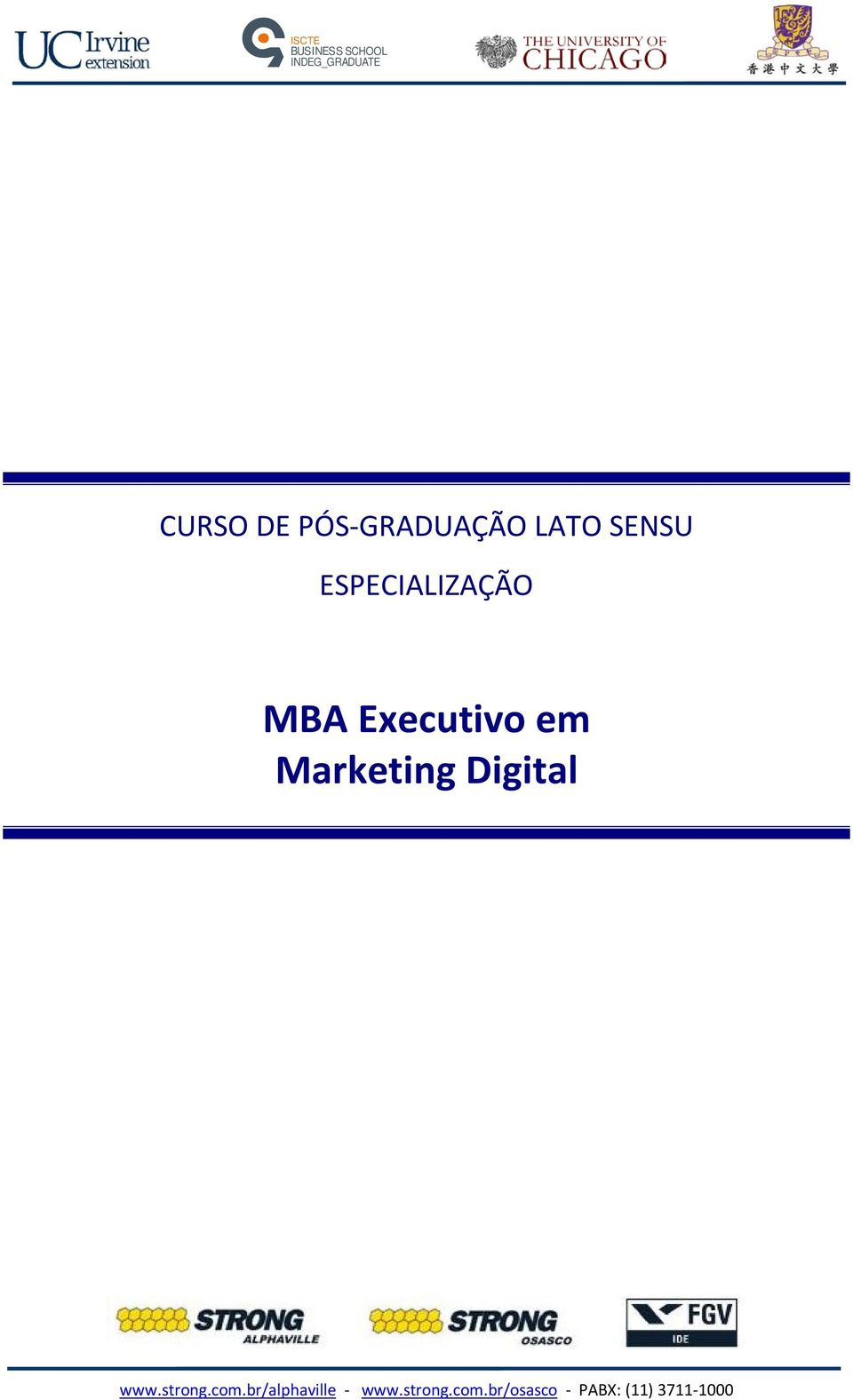 Executivo em Marketing Digital www.strong.com.