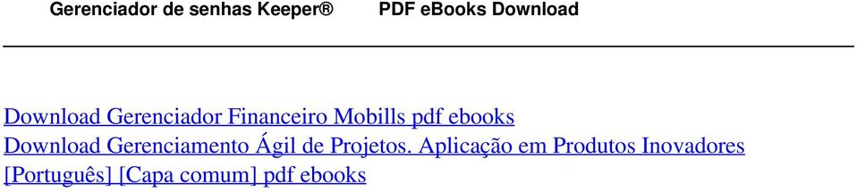 Download Gerenciador Financeiro Mobills pdf ebooks Download