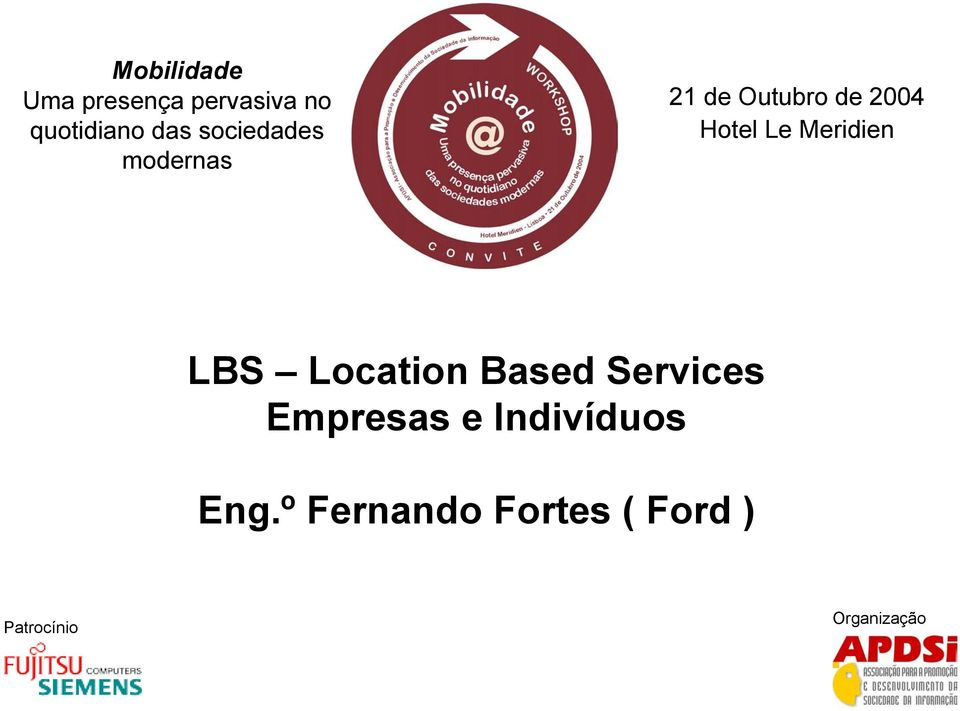 Meridien LBS Location Based Services Empresas e