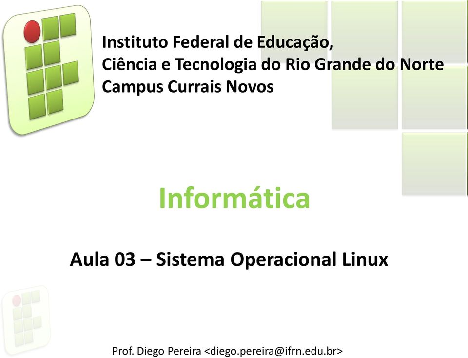 Tecnologia do Rio Grande do Norte Campus