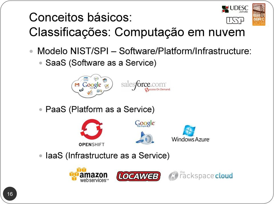 Software/Platform/Infrastructure: SaaS (Software