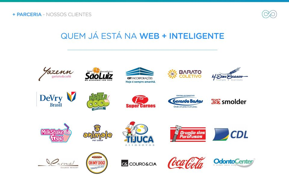 NA WEB + INTELIGENTE