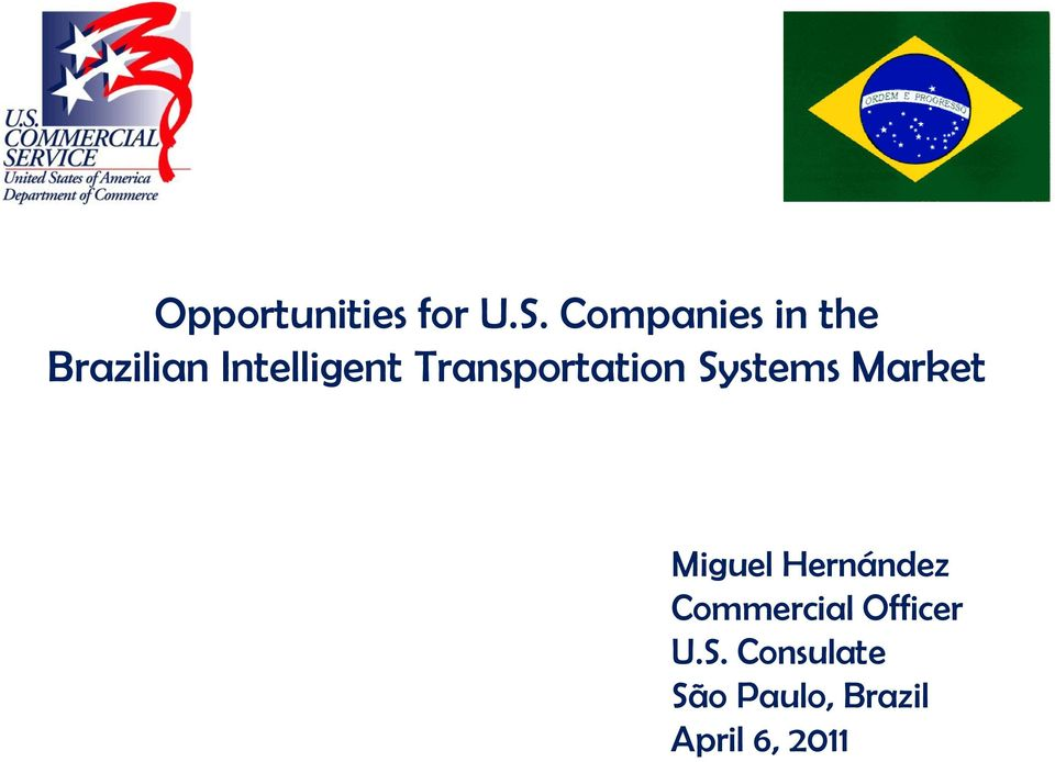 Transportation Systems Market Miguel
