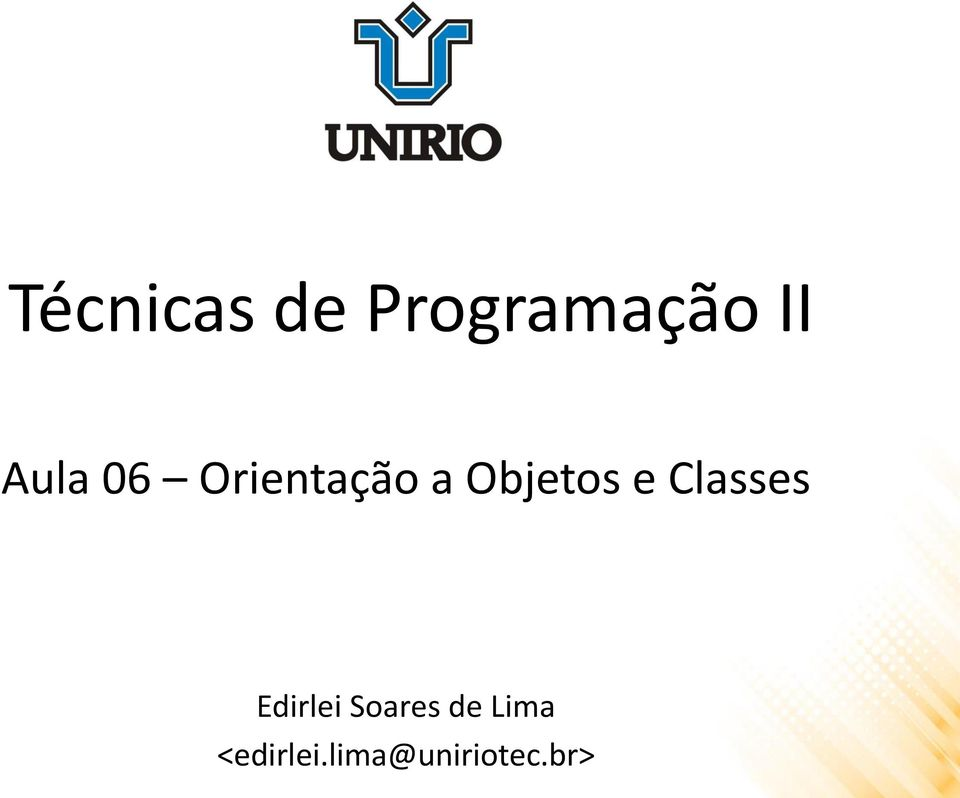 e Classes Edirlei Soares de