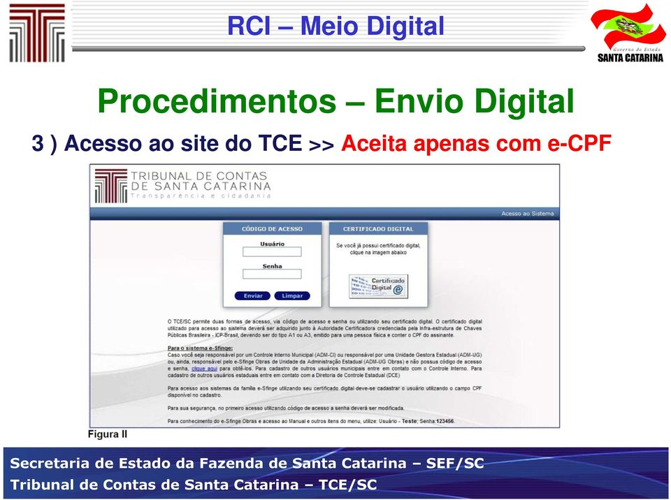 ao site do TCE >>