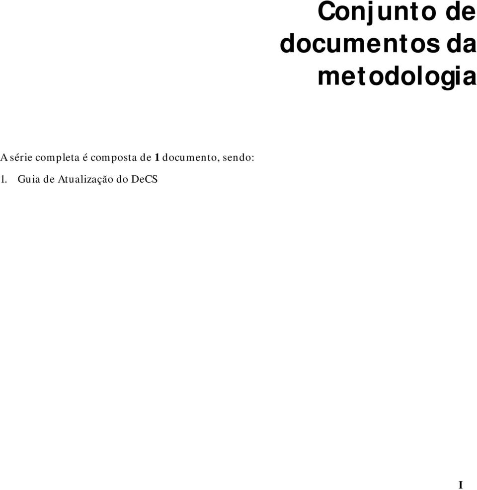 composta de 1 documento,