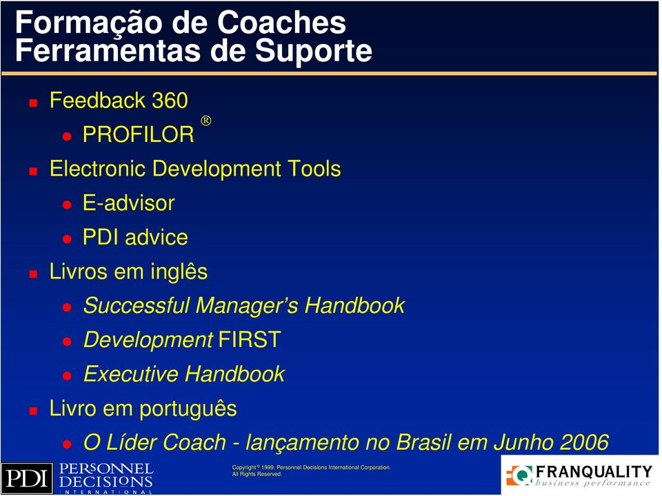Successful Manager s Handbook Development FIRST Executive Handbook