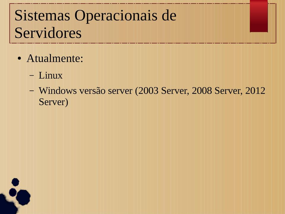 Windows versão server (2003