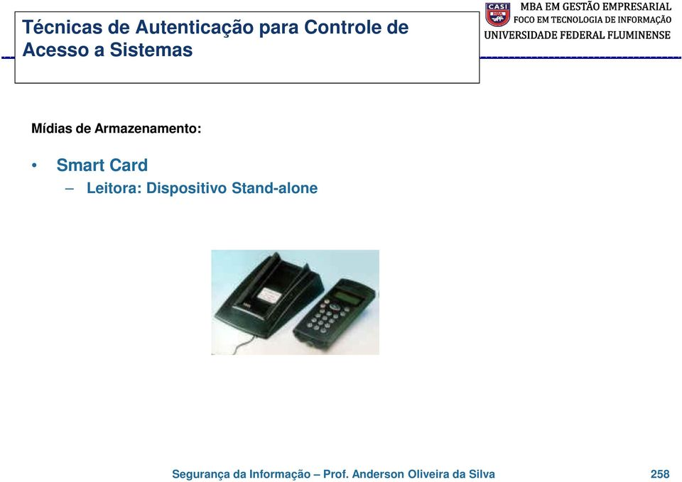 Smart Card Leitora: Dispositivo Stand-alone