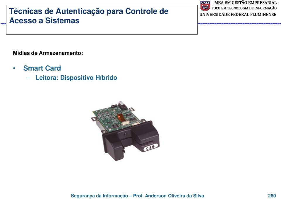 Smart Card Leitora: Dispositivo Híbrido