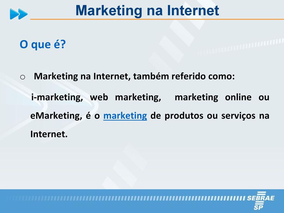 i-marketing, web marketing, marketing online