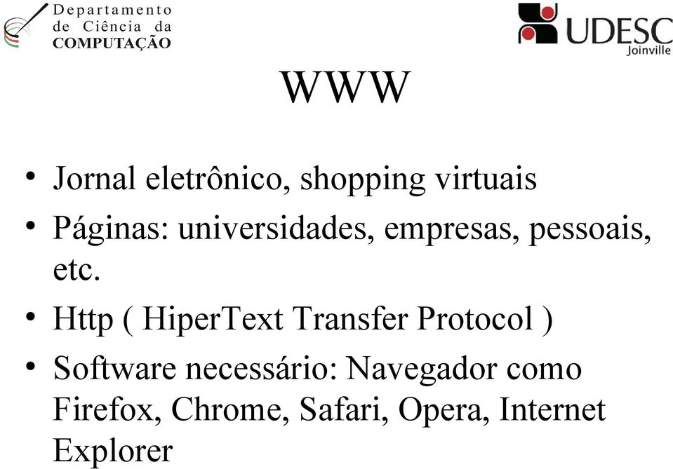 Http ( HiperText Transfer Protocol ) Software