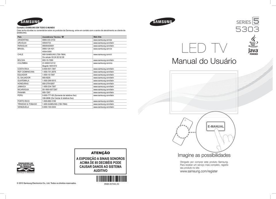 samsung led tv manual pdf