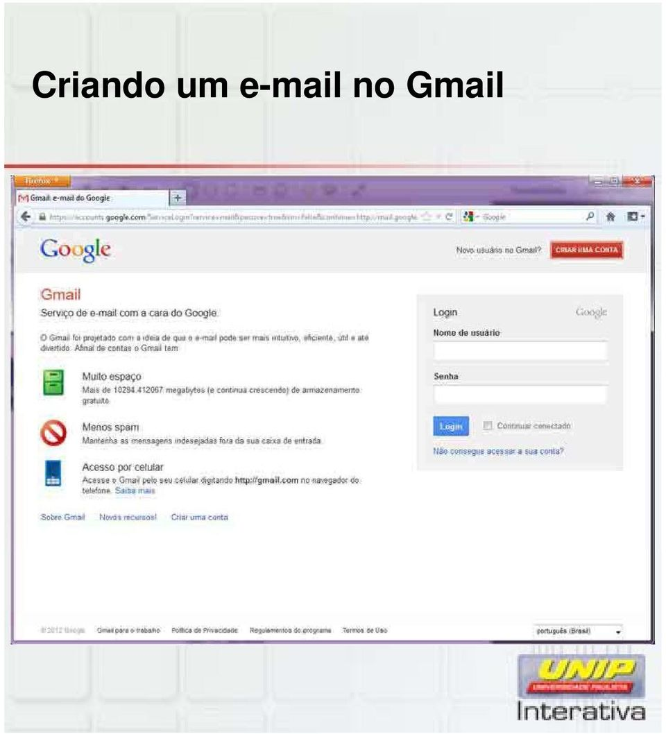 no Gmail