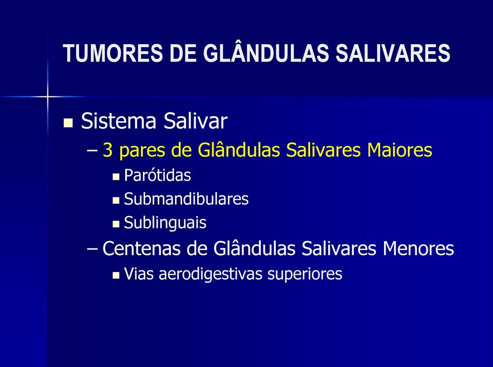 Submandibulares Sublinguais Centenas de