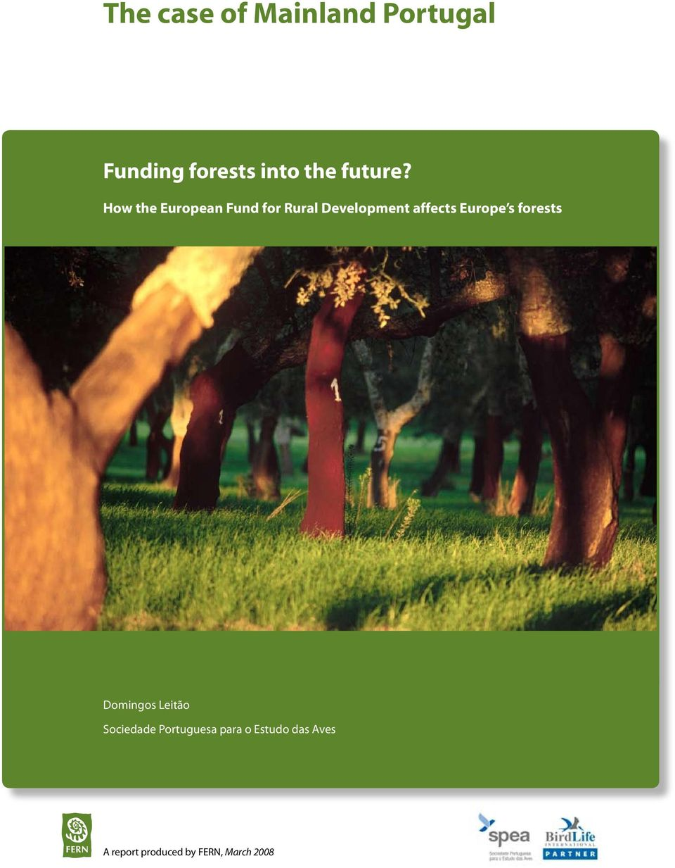 How the European Fund for Rural Development affects