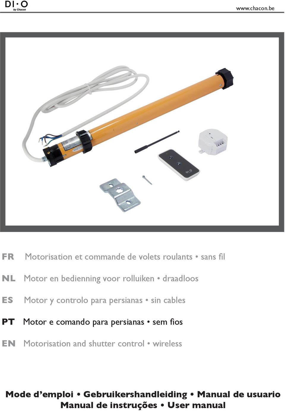 e comando para persianas sem fios EN Motorisation and shutter control wireless
