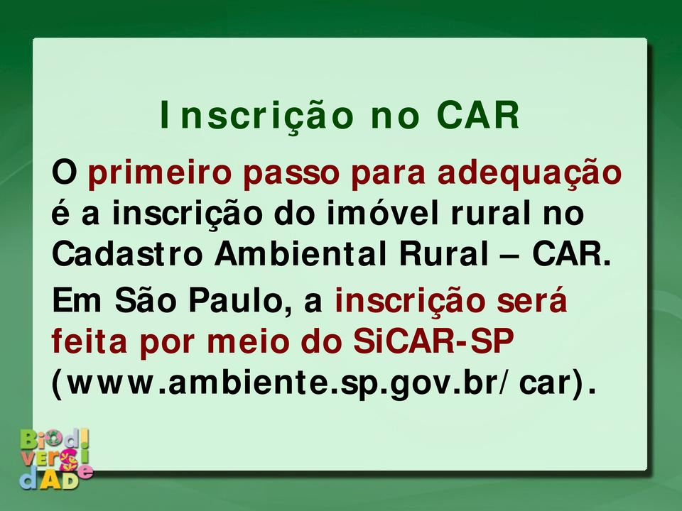 Ambiental Rural CAR.