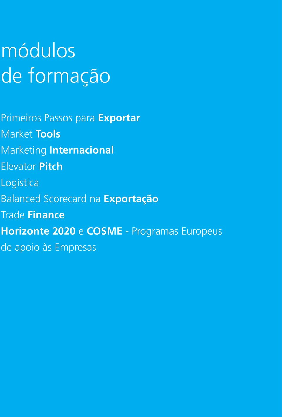 Exportar Market Tools Marketing Internacional Elevator Pitch Logística