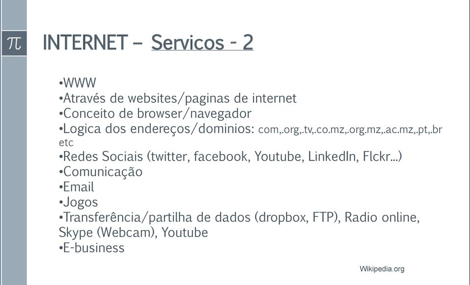 br etc Redes Sociais (twitter, facebook, Youtube, LinkedIn, Flckr.