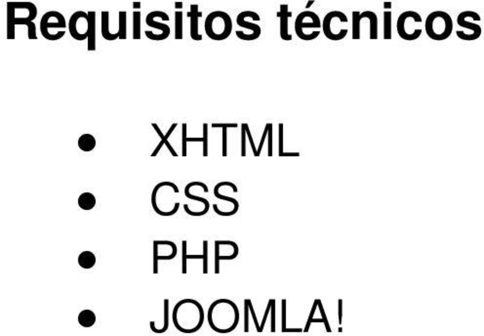 XHTML CSS