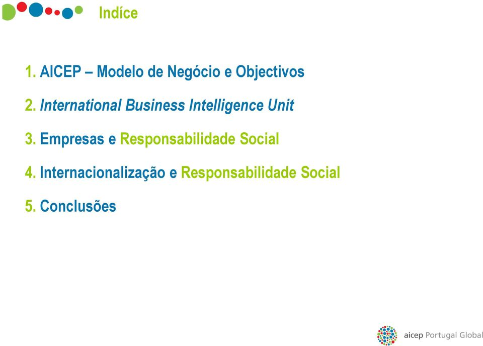 International Business Intelligence Unit 3.