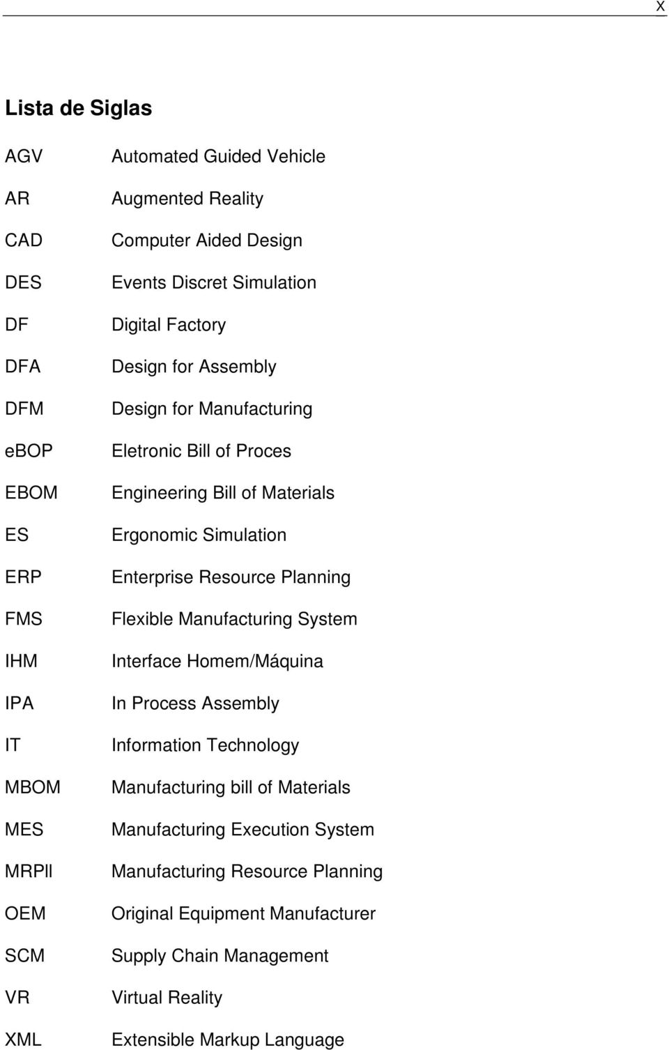 Simulation Enterprise Resource Planning Flexible Manufacturing System Interface Homem/Máquina In Process Assembly Information Technology Manufacturing bill of