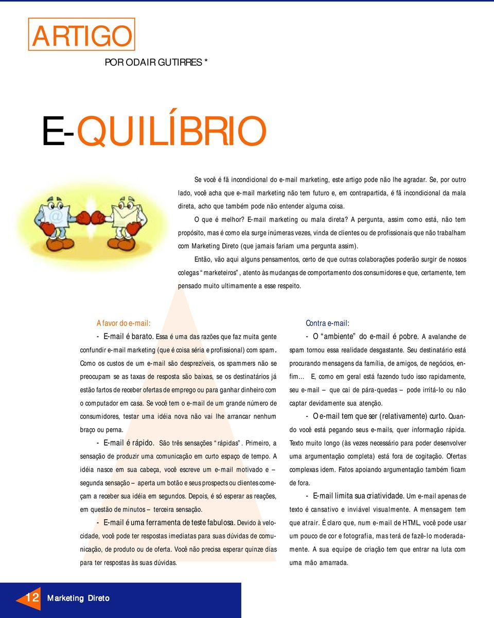 E-mail marketing ou mala direta?