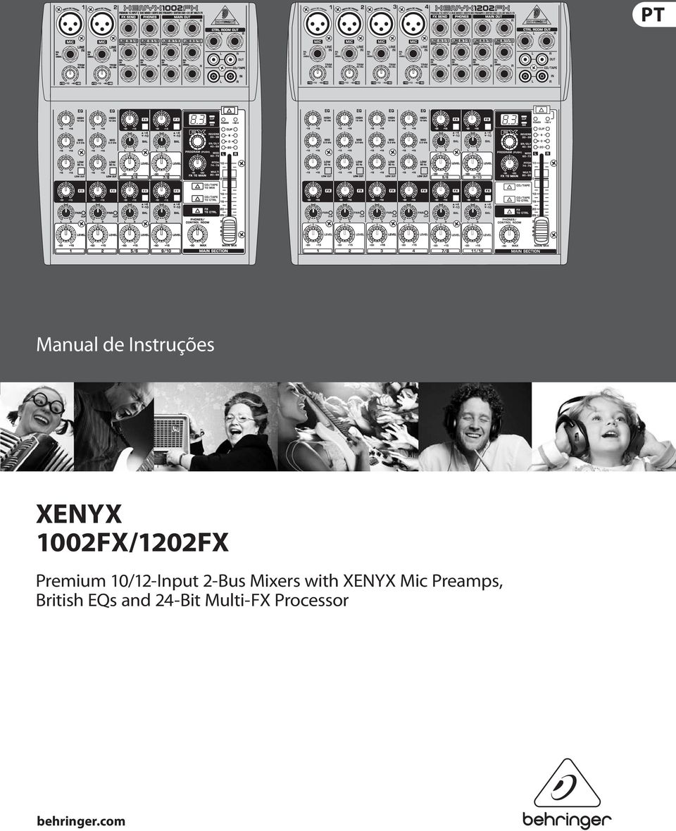2-Bus Mixers with XENYX Mic