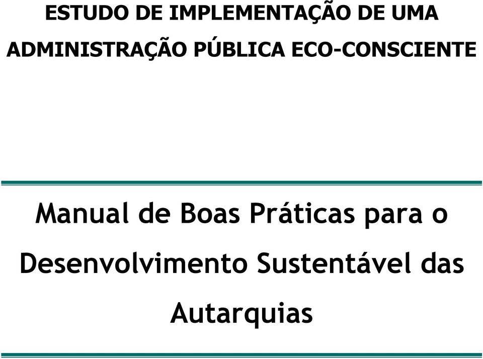 ECO-CONSCIENTE Manual de Boas