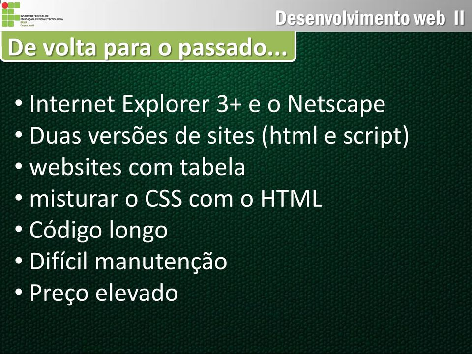 versões de sites (html e script) websites com