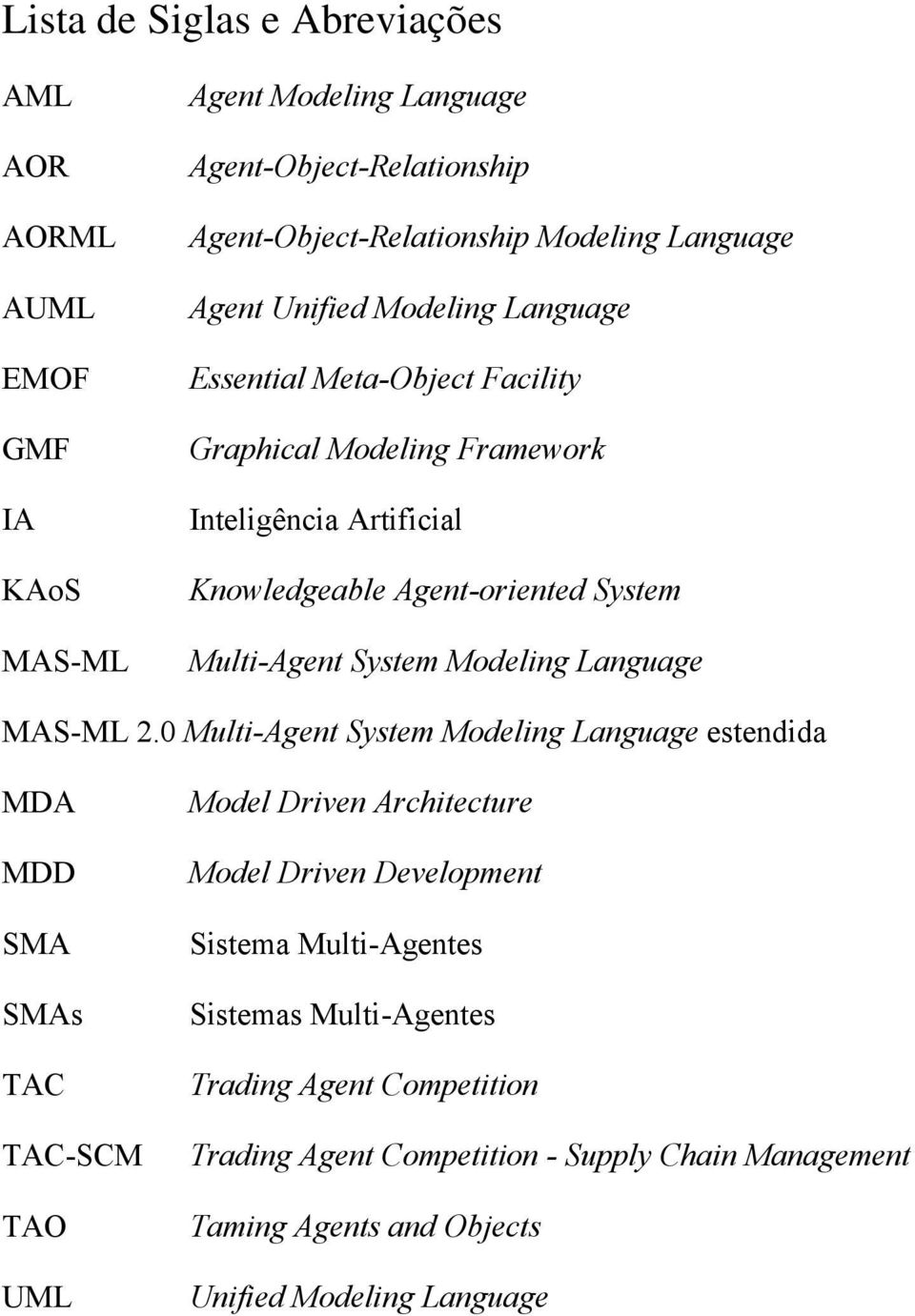 System Modeling Language MAS-ML 2.