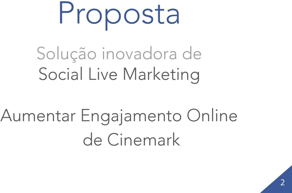 Live Marketing Aumentar