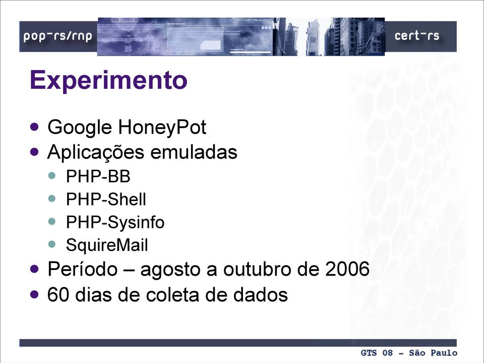 PHP-Sysinfo SquireMail Período