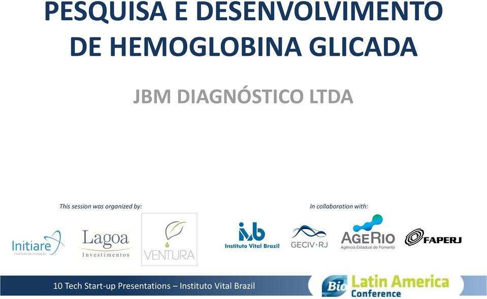 DIAGNÓSTICO LTDA This session