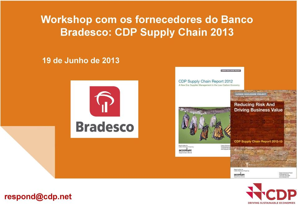 Bradesco: CDP Supply Chain