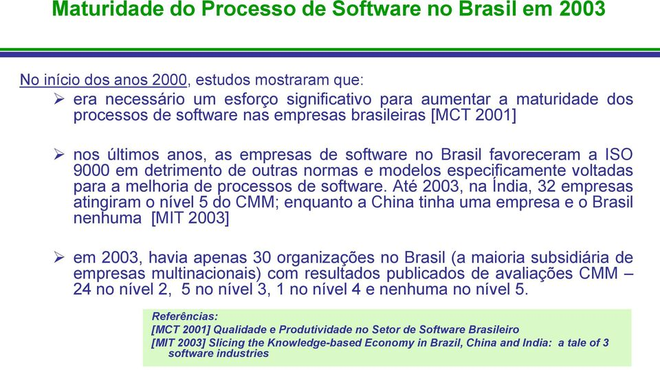 processos de software.