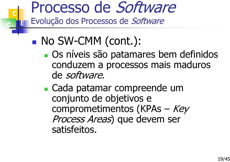 mais maduros de software.