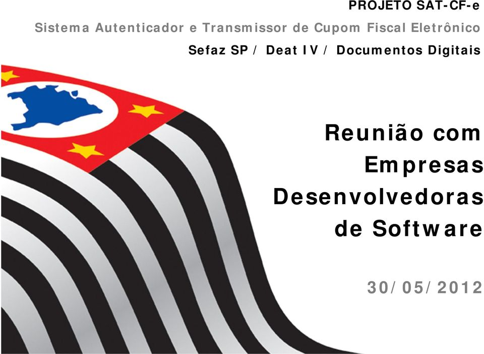 SP / Deat IV / Documentos Digitais Reunião