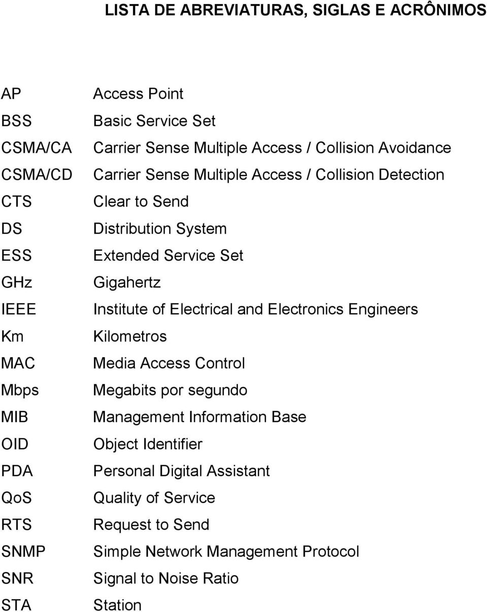 Extended Service Set Gigahertz Institute of Electrical and Electronics Engineers Kilometros Media Access Control Megabits por segundo Management